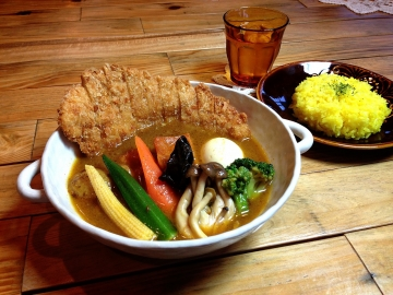 soup curry tom tom kikir / スープカレー トムトムキキル