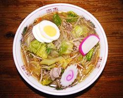 秋田名物 納豆ラーメン 喜楽