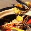 近江町市場から仕入れた新鮮魚介と土鍋パエ...