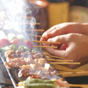 炭火熟成鶏 野菜豚バラ巻 うっとり 上大岡店