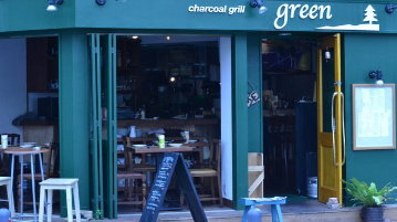 Charcoal Grill green(チャコールグリル グリーン) 馬車道 image