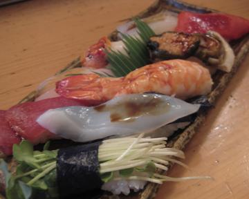 なにわ寿司