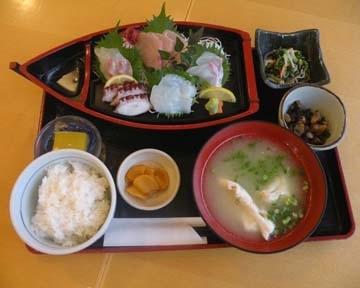 道の駅 宇土マリーナおこしき館漁師食堂イートインコーナー