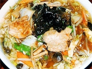 中国料理角半