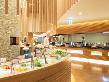 蓼科グランドホテル滝の湯ブッフェレストランSeeds