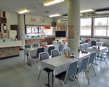 岡山県備前県民局食堂