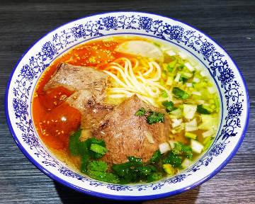 功夫 蘭州牛肉麺(カンフーらんしゅうぎゅうにくめん)
