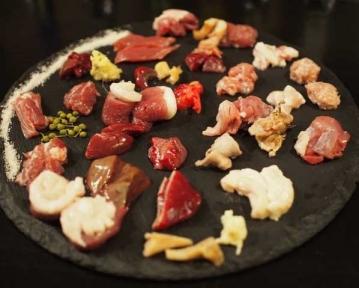 鴨串 野菜巻き串 ぐるぐるねぎま 福島
