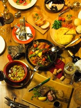 地中海料理とスモーク QUETZAL