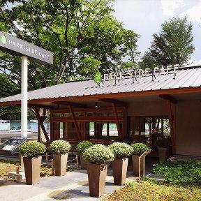 上野の森パークサイドカフェ 上野恩賜公園