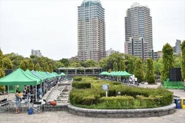 千葉県立幕張海浜公園 バーベキューガーデン