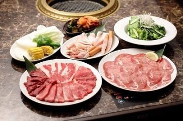 焼肉 食べ放題 牛伝 イオン茨木店