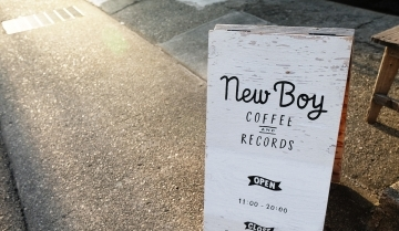 New Boy Coffee & Records