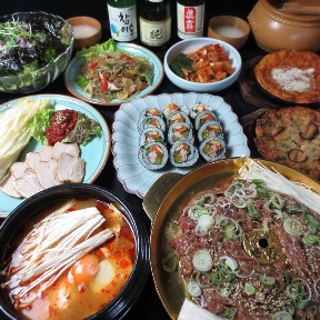 韓国家庭料理 多来