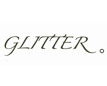 GLITTER。