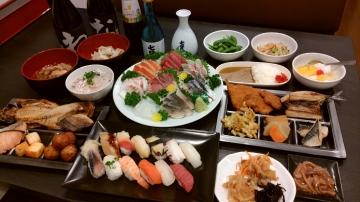海鮮お刺身食べ放題・勘助