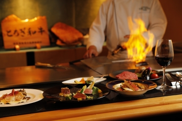 鉄板焼 下野 宇都宮東武ホテルグランデ レストラン