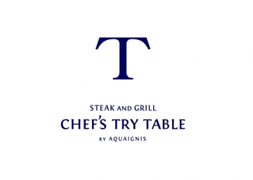 Chef's try table