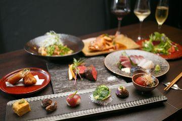 地元食材の和食と自然派ワインの店 〜a.Un(あうん)〜