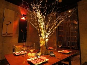 夜の隠れ家レストラン notte