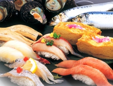 廻る新鮮グルメ のん太鮨 パセーラ店