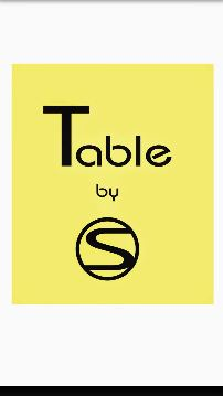 Table by S