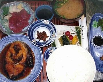 食事処 満津田