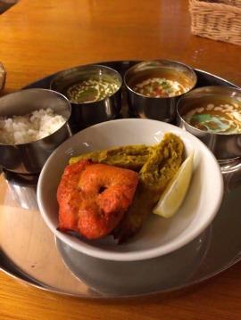 インドカレーオープンキッチン