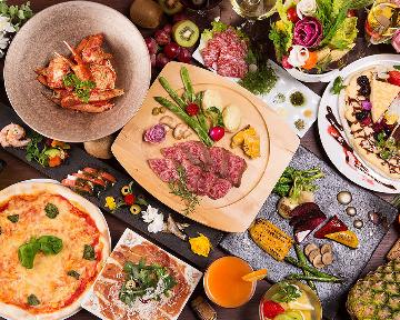 ピザと肉 サカバ Luno 博多店