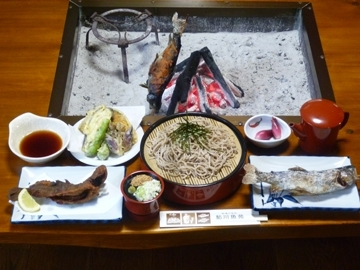 釣り堀と田舎料理 鮎川魚苑