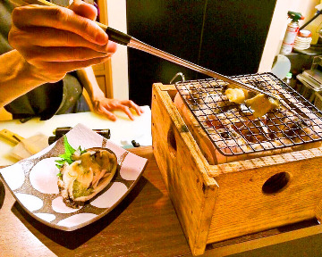 天ぷら 炭焼 たかまる、