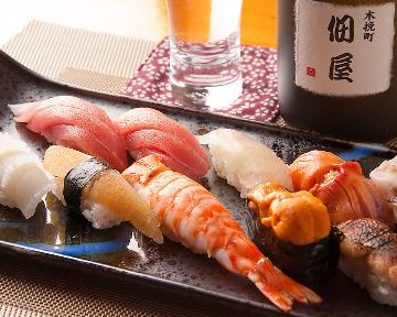 寿司割烹 木挽町佃屋