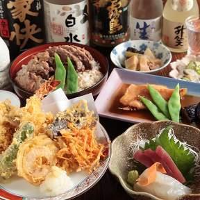 季節料理・天ぷら なりた