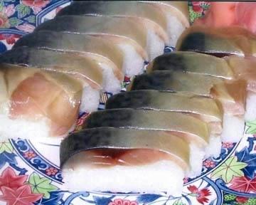 鯖寿司 栃生梅竹