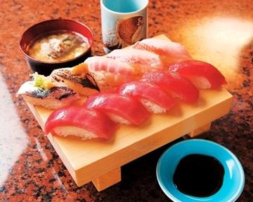 三崎港回転寿司さん和