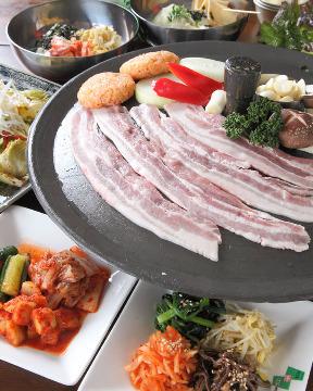 韓国家庭料理 まる福